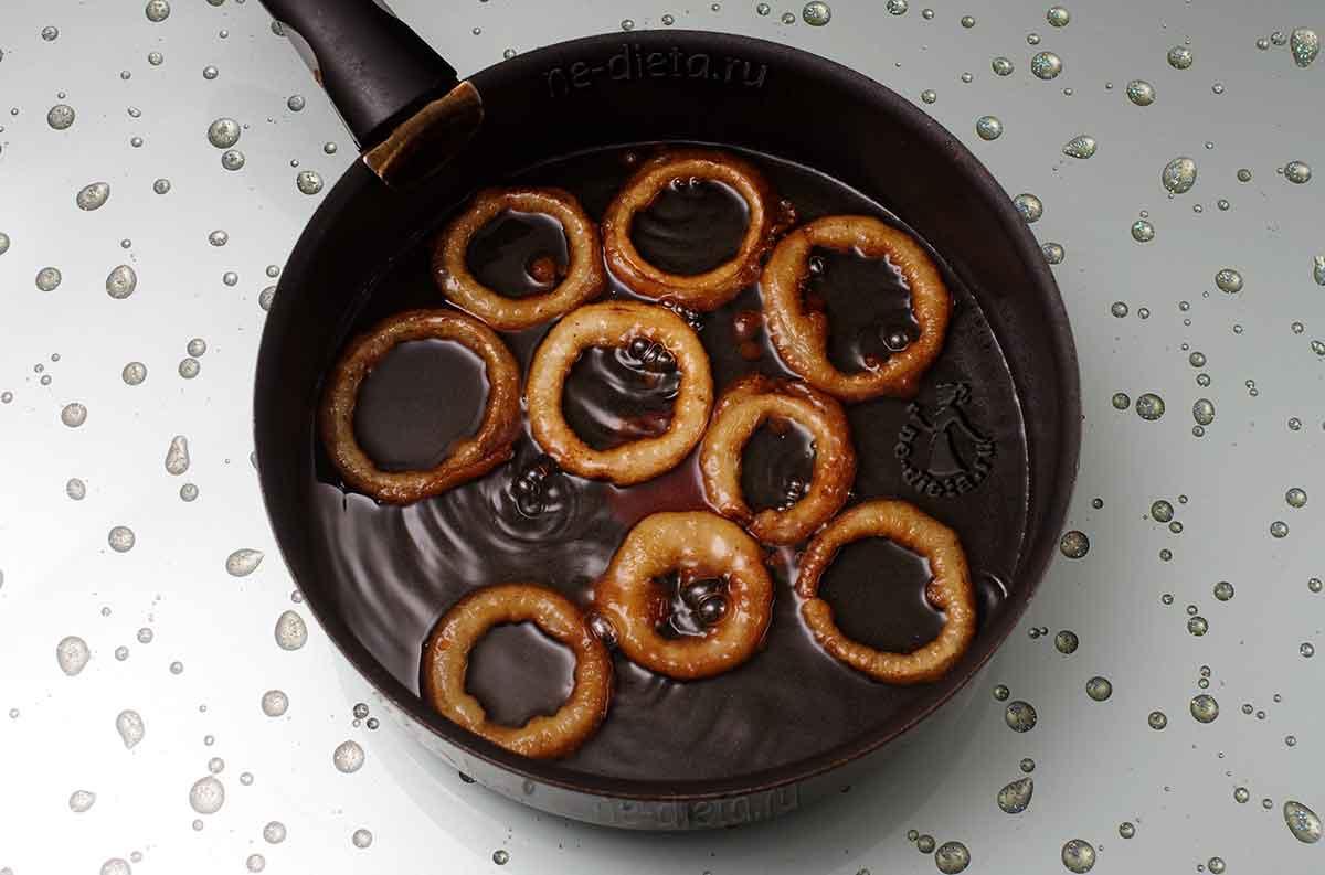 Луковые кольца во фритюре