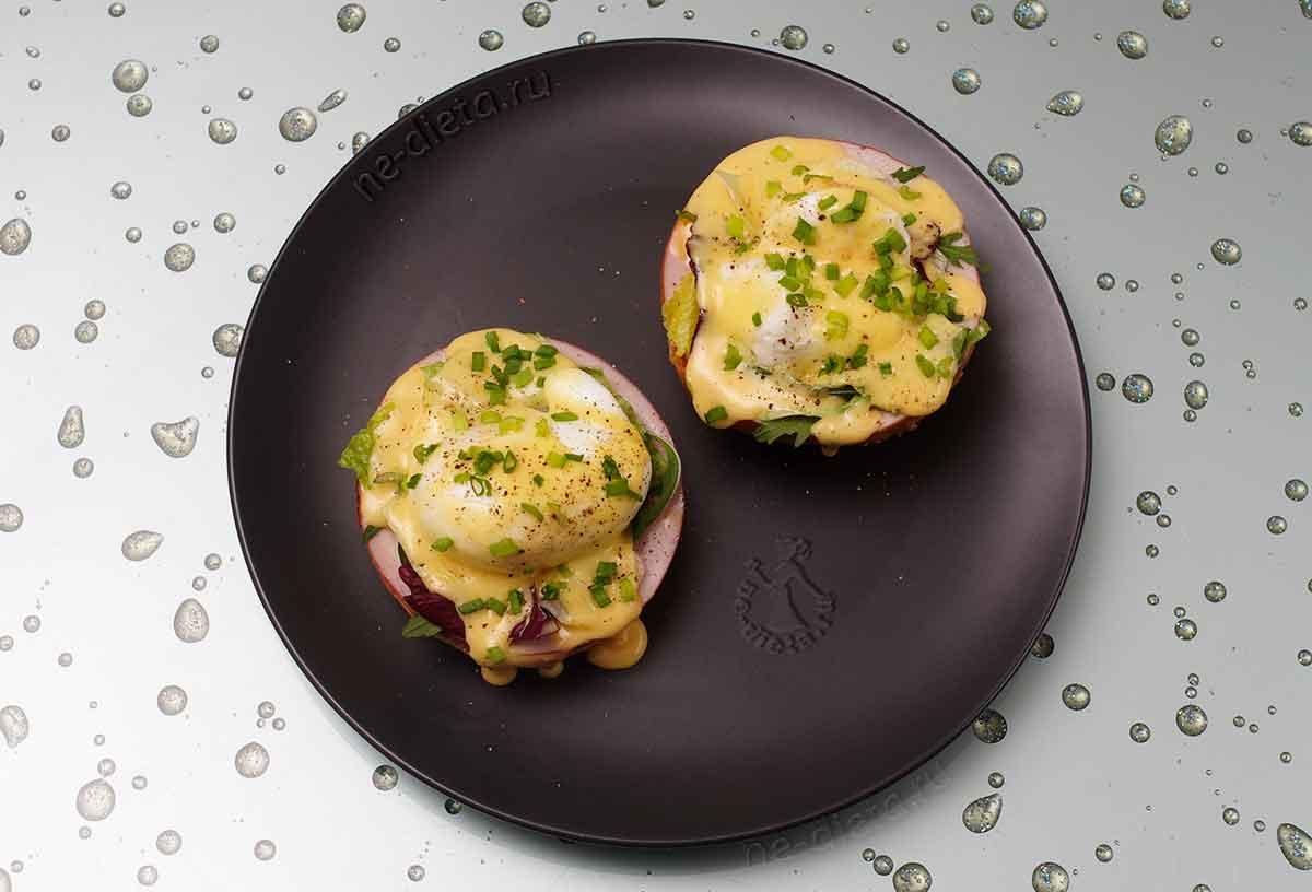 Яйца бенедикт классический рецепт