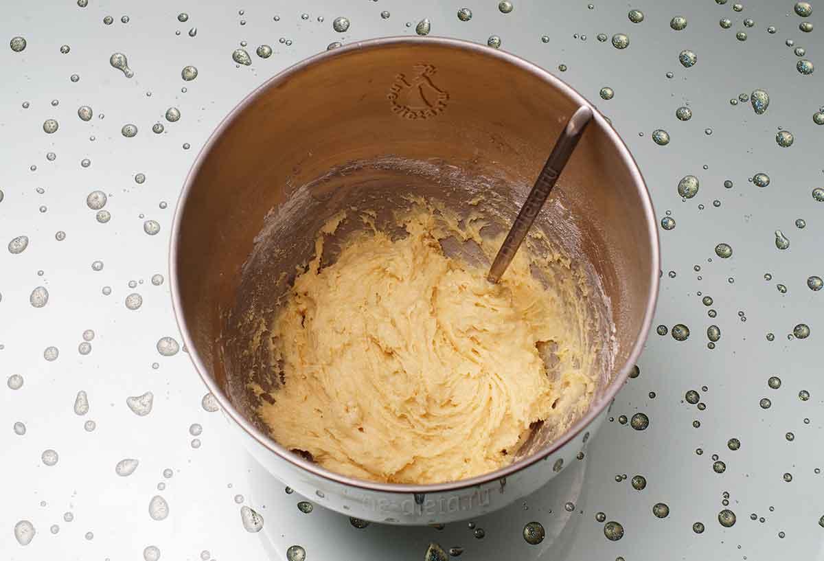 Тесто для орехового кекса
