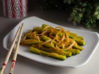 Китайский салат из огурцов
