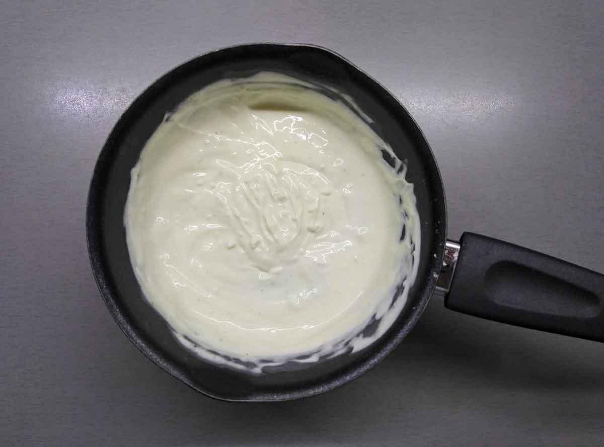 Сметанный соус для жюльена